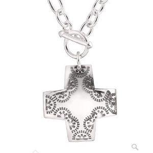 Silpada cross pendant necklace
